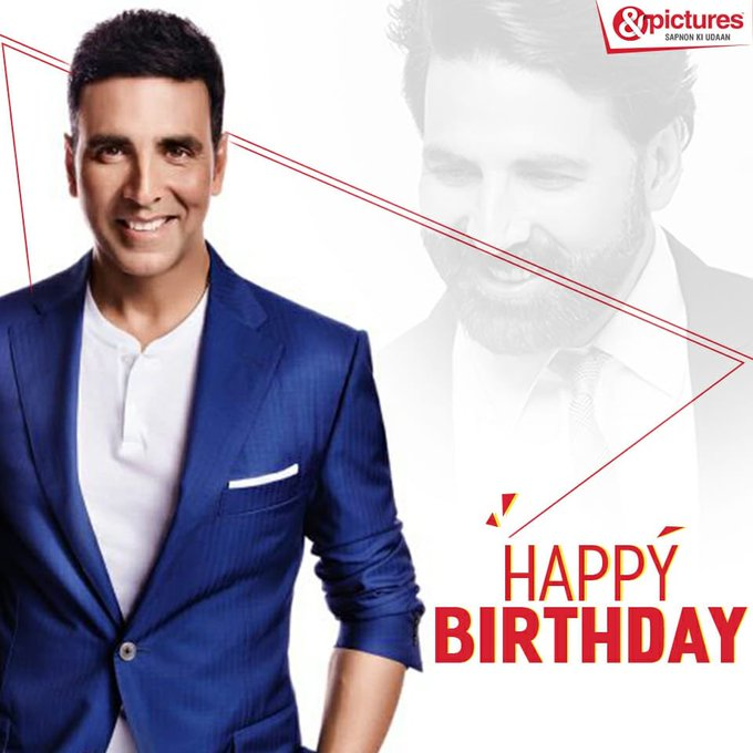 Wishing the Khiladi of Bollywood, Akshay Kumar a very happy birthday.