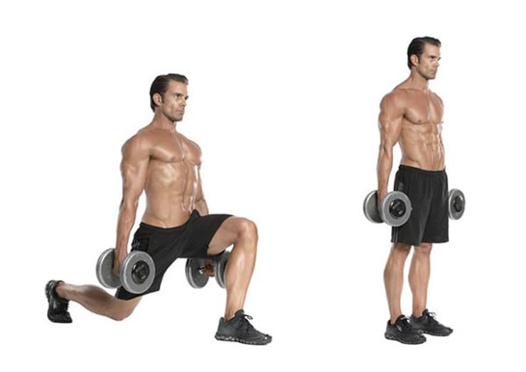 """MensXP on Twitter: """"Walking lunges with dumbbells: Total Sets- 3 ..."""