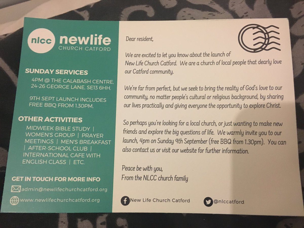New Life Church Catford on Twitter: