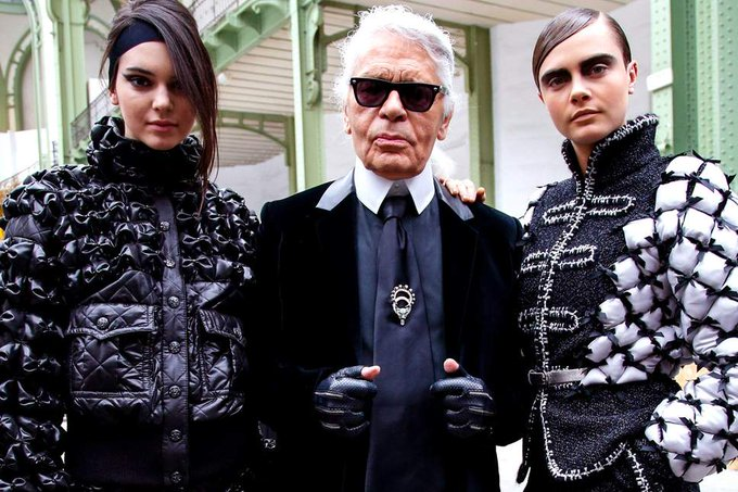 Happy birthday to the legendary Karl Lagerfeld, his fashion direction has made a staple in this world