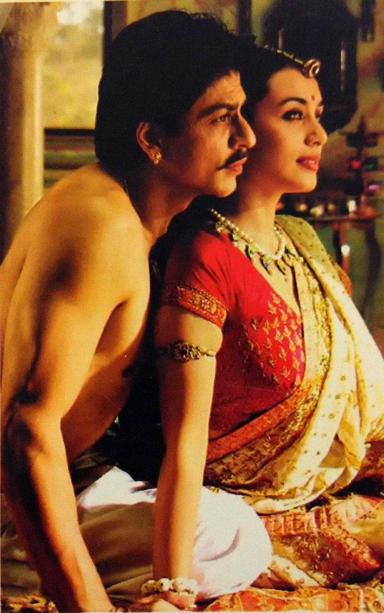 "Movies N Memories on Twitter: ""Shahrukh Khan and Rani Mukherjee in Amol  Palekar's Paheli (2005) @iamsrk… """