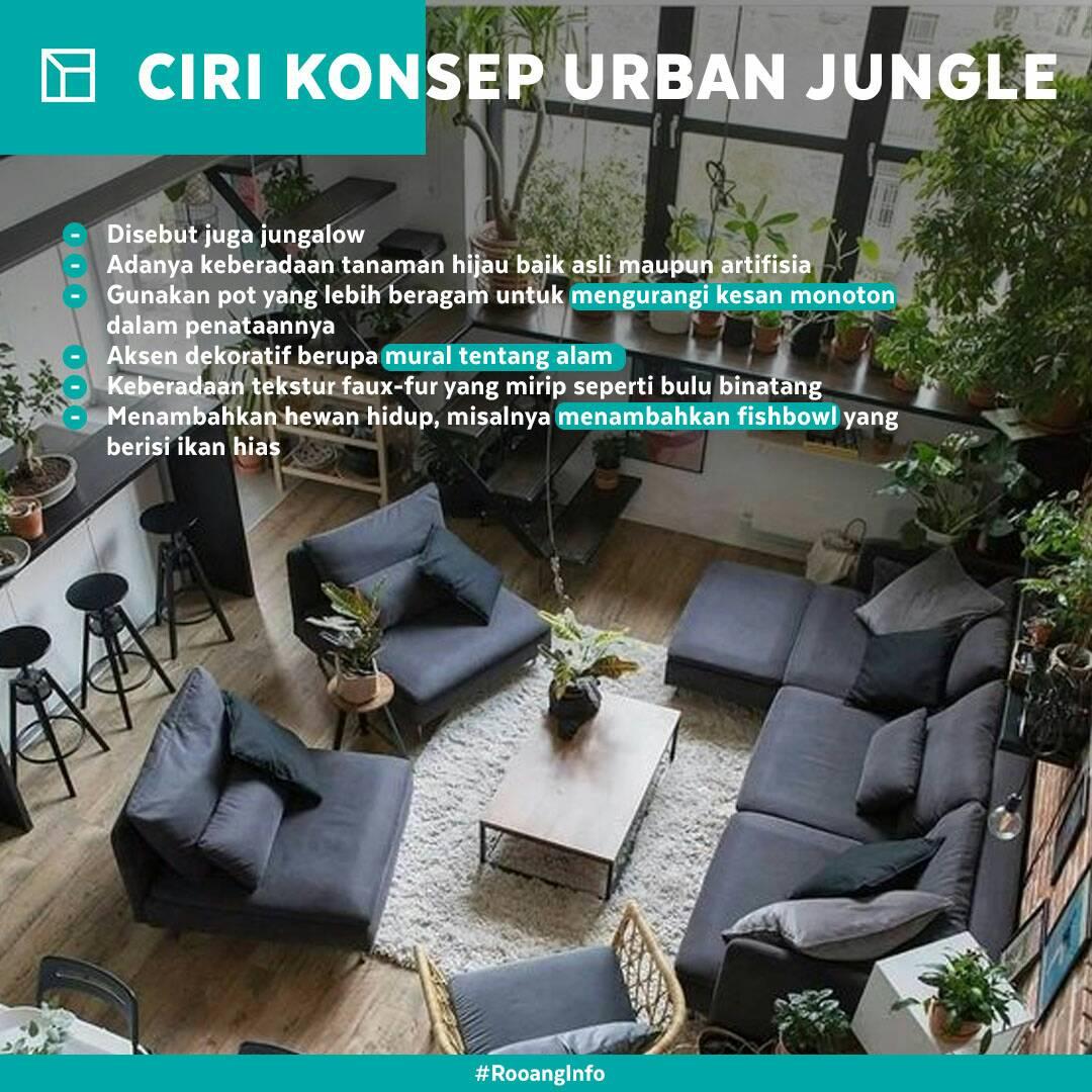 Rooang Com On Twitter Konsep Urban Jungle Dalam Rumah Juga Bisa