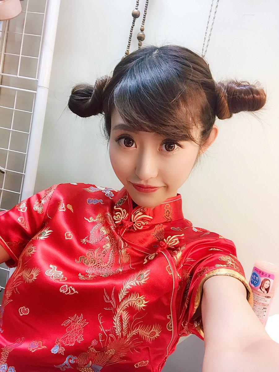チャイナ ドレス 髪型