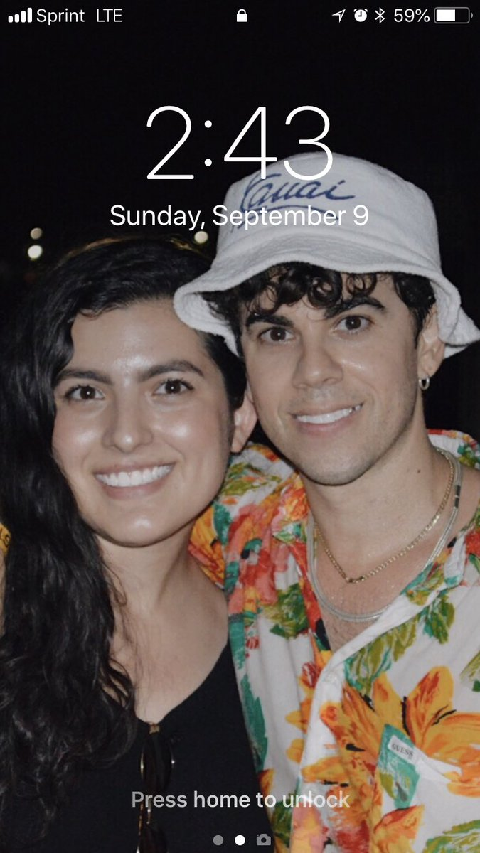i am barely getting home and i am exhausted, but this is my lockscreen and honestly it was totally worth it!