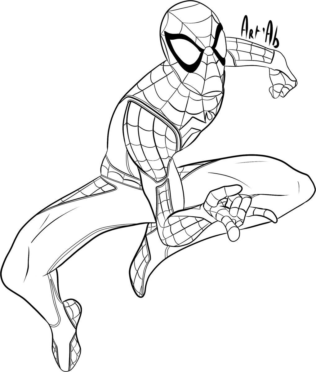 Idées Tendances Dessin Spiderman Ps4 - The Vegen Princess