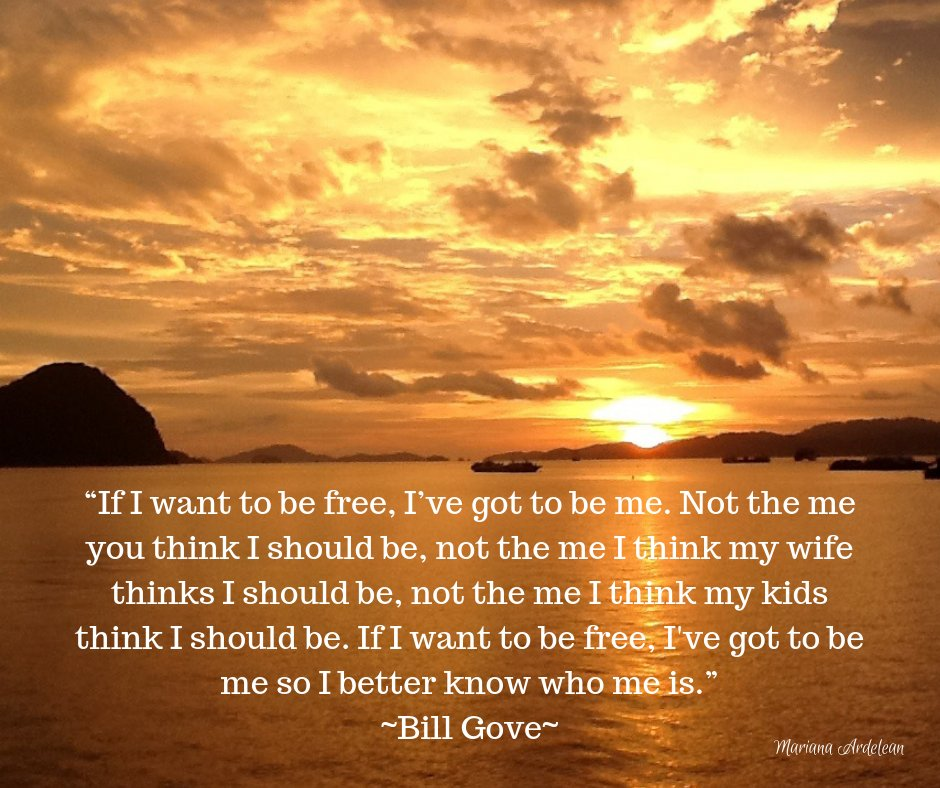 bill gove if i want to be free