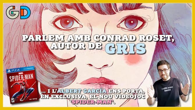 Ccmacat Catradio Alacarta Generacio Digital De La Illustracio Al Videojoc Conrad Roset Ens Explica Seva Nova Aventura Gris Audio 1012603