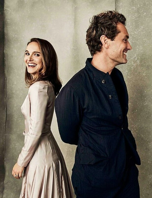 Natalie Portman and Jude Law for Variety (2018)
