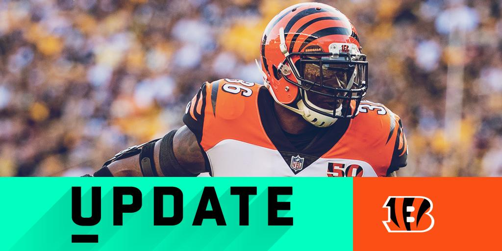 Bengals S Shawn Williams ejected: https://t.co/mO2g3TBAb7 #CINvsIND https://t.co/qJqvojKTEM