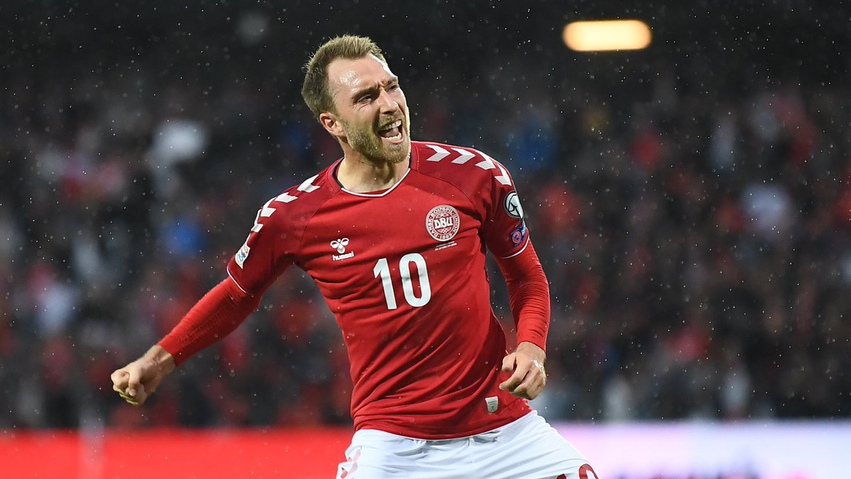 Video: Đan Mạch vs Wales