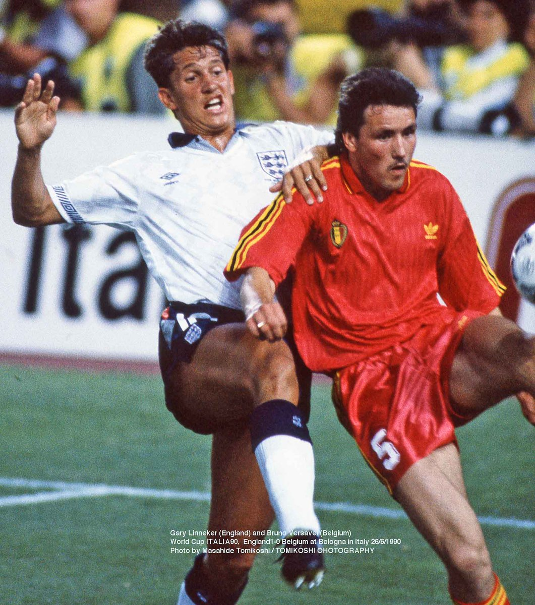 Tphoto On Twitter Gary Linneker England And Bruno Versavel Belgium World Cup Italia90 England1 0 Belgium At Bologna In Italy 26 6 1990 Photo By Masahide Tomikoshi Tomikoshi Pohotography Https T Co 4kwixia70f