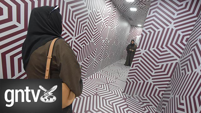 #Video: Inside the #Dubai #museum of #Illusions at #AlSeef: https://t.co/SQ1L6PHN4k @gulf_news
