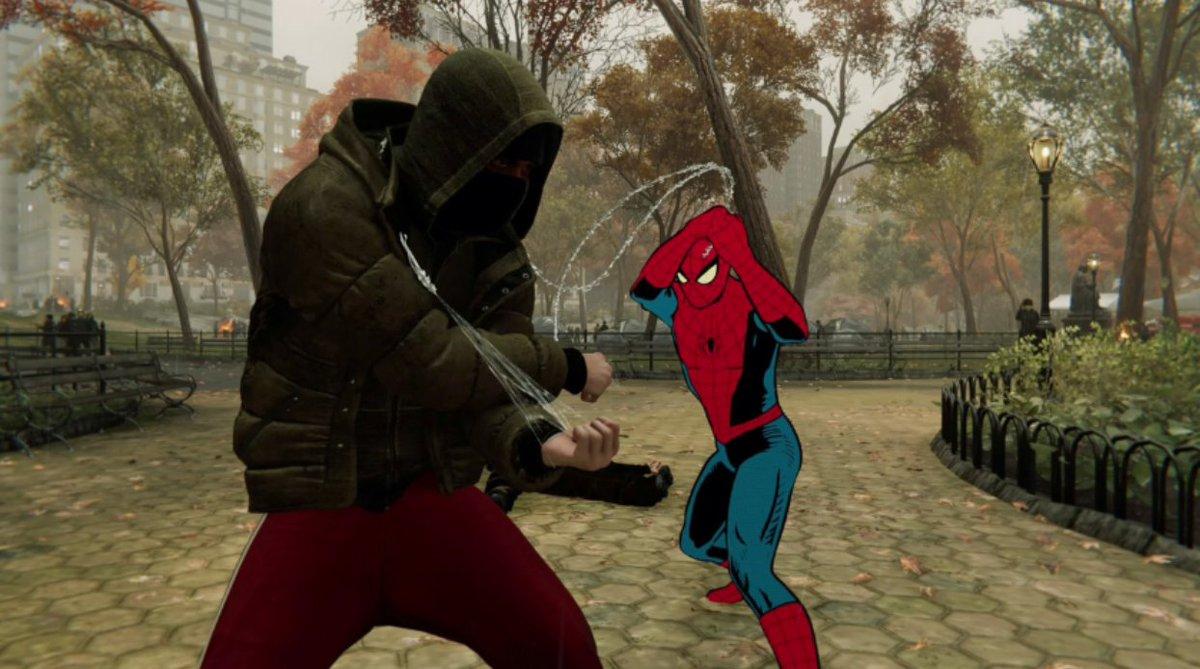 PS4のスパイダーマンのこの衣装ヤバすぎ スパイディーのアニメタッチのお陰で世界観全般がよりリアルに…