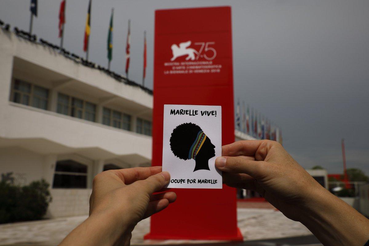 Festival del Cinema di Venezia. Chi ha ucciso Marielle Franco e perché? #venezia75 #mariellevive #mariellepresente #mariellefranco #Venezia #mariellefranco #QuemMatouMarielle #Venice #venicefilmfestival2018  - Ukustom