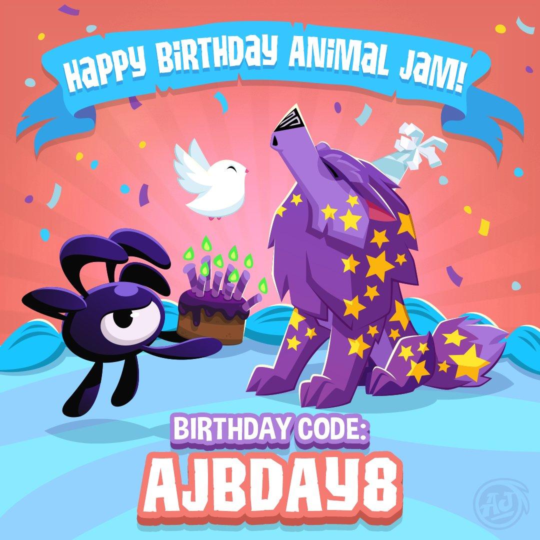 Animal Jam On Twitter Happy Birthday Animaljam Community Its