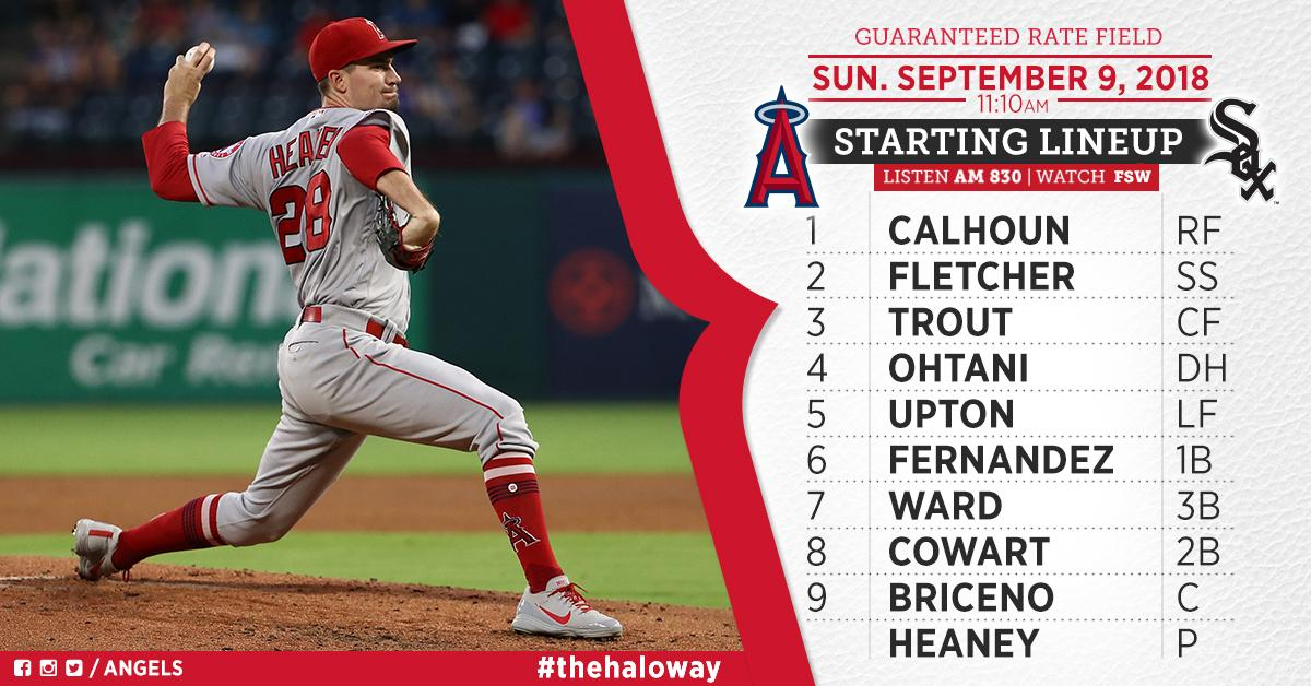 .@Heandog8 gets the nod as the Halos go for a series sweep!  Game Preview: https://t.co/HChCMINOA2 https://t.co/fuKnqjWd1t