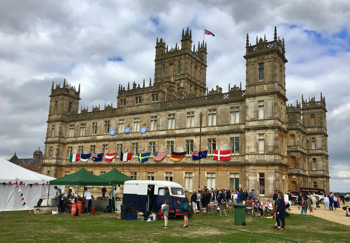 Heroes At Highclere Weekend Commemorating The Beginning Of End First World War Fans Downton Abbey Know That Had Its Impact Also