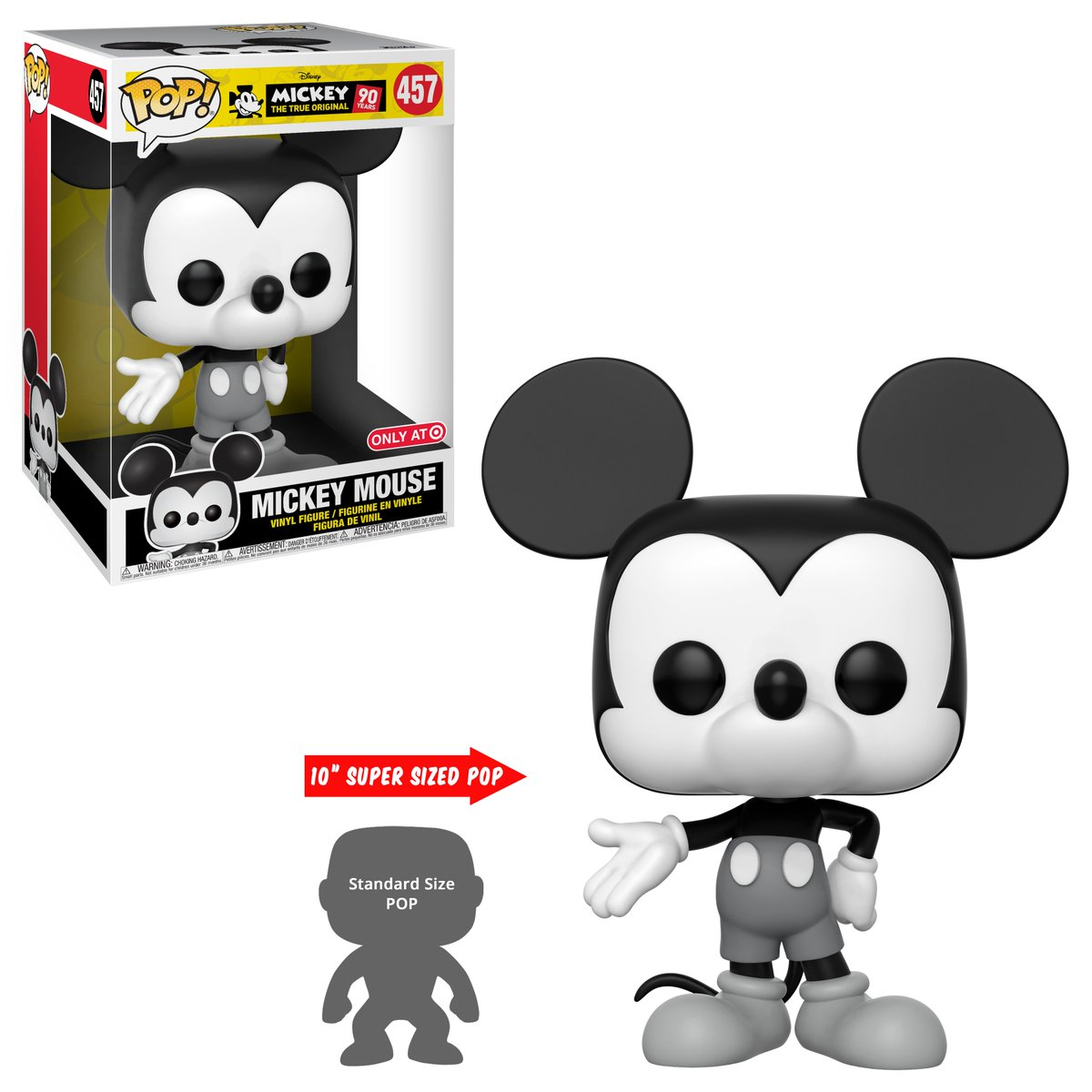 Replying to @OriginalFunko: RT & follow @OriginalFunko for the chance to win a @Target exclusive 10-inch Mickey Mouse Pop!