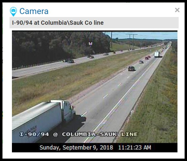 Including I 90 94 And 39 Near Portage In Columbia County Despite The Sunny Weather Motorists May Still Encounter Closed Roads Or Lane Closures