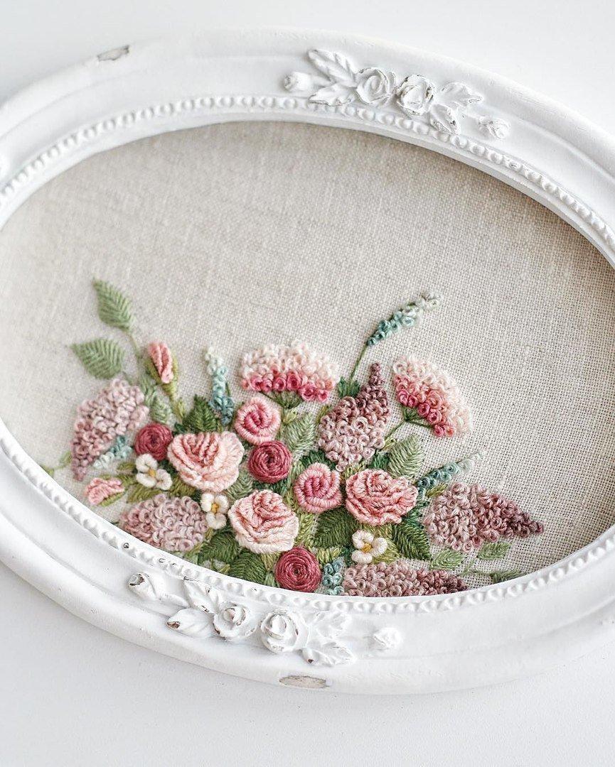 Oksana Ivanik Art On Twitter Embroidery By Nadia Sinkevich