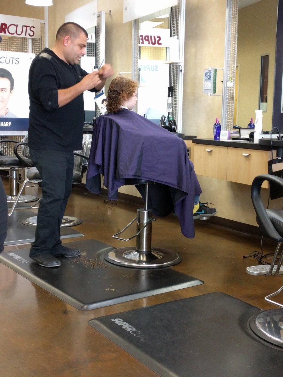Marie Buhtz On Twitter Haircut Time Just A Trim Per His Request