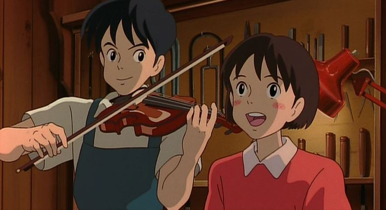 I wasn&#39;t expecting #StudioGhibli&#39;s #WhisperOfTheHeart to be my kind of film. It sounded too much like a romantic drama for teenage girls. But it turned out to be utterly charming, beautiful to look at, with a gorgeous score and adorable characters. I really enjoyed it. #oldsofty<br>http://pic.twitter.com/lKlccZK5cL
