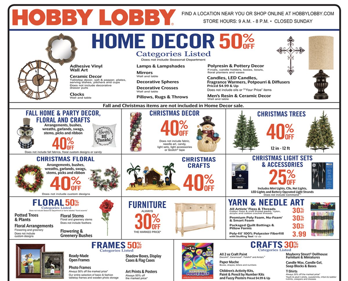 Official Hobby Lobby on Twitter: \
