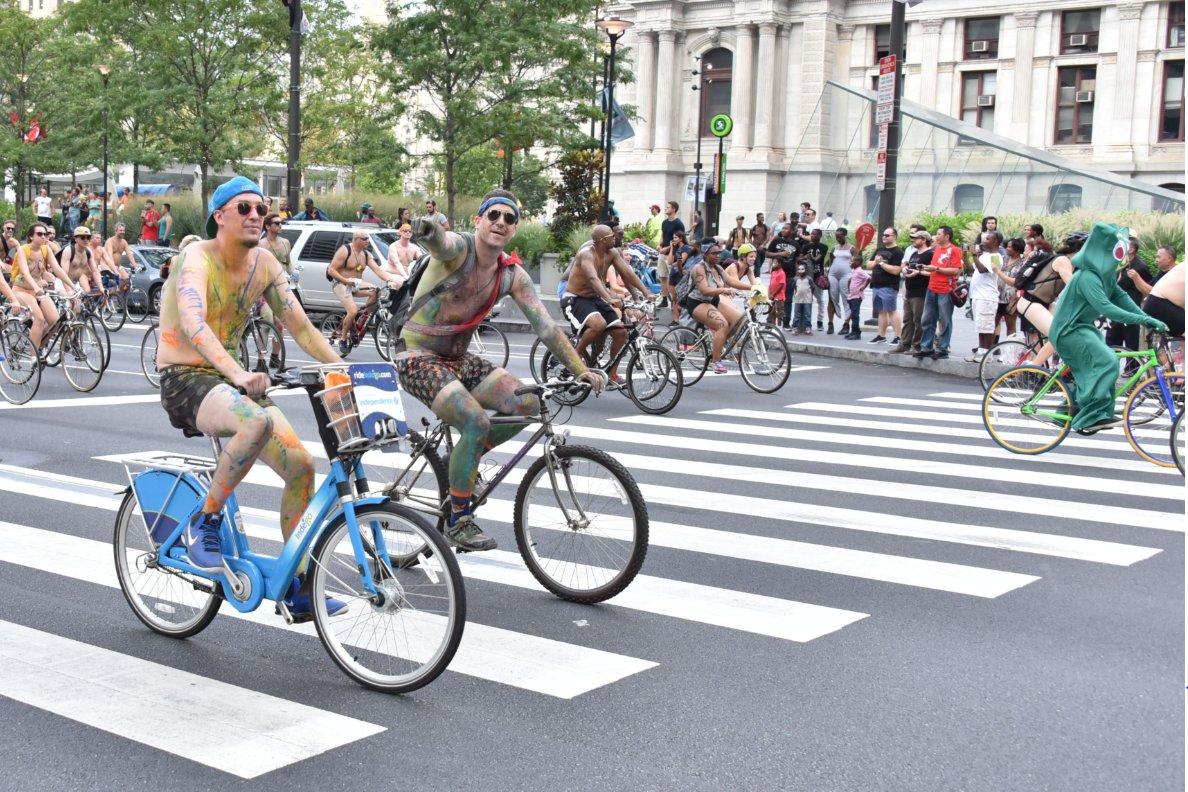 Philadelphia naked bike ride can