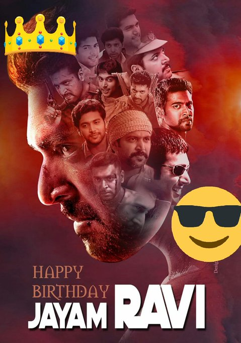 Happy birthday jayam ravi from nani anna fans