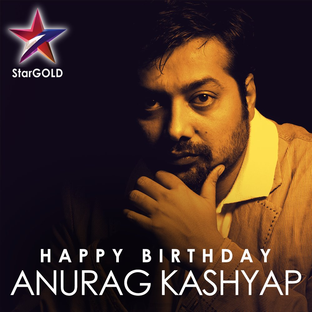 Birthday greetings to the director who challenges the status quo of Indian cinema! #HappyBirthdayAnuragKashyap @anuragkashyap72