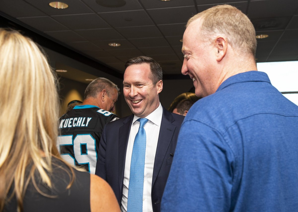 Carolina Panthers On Twitter Meet And Greet With Commissioner