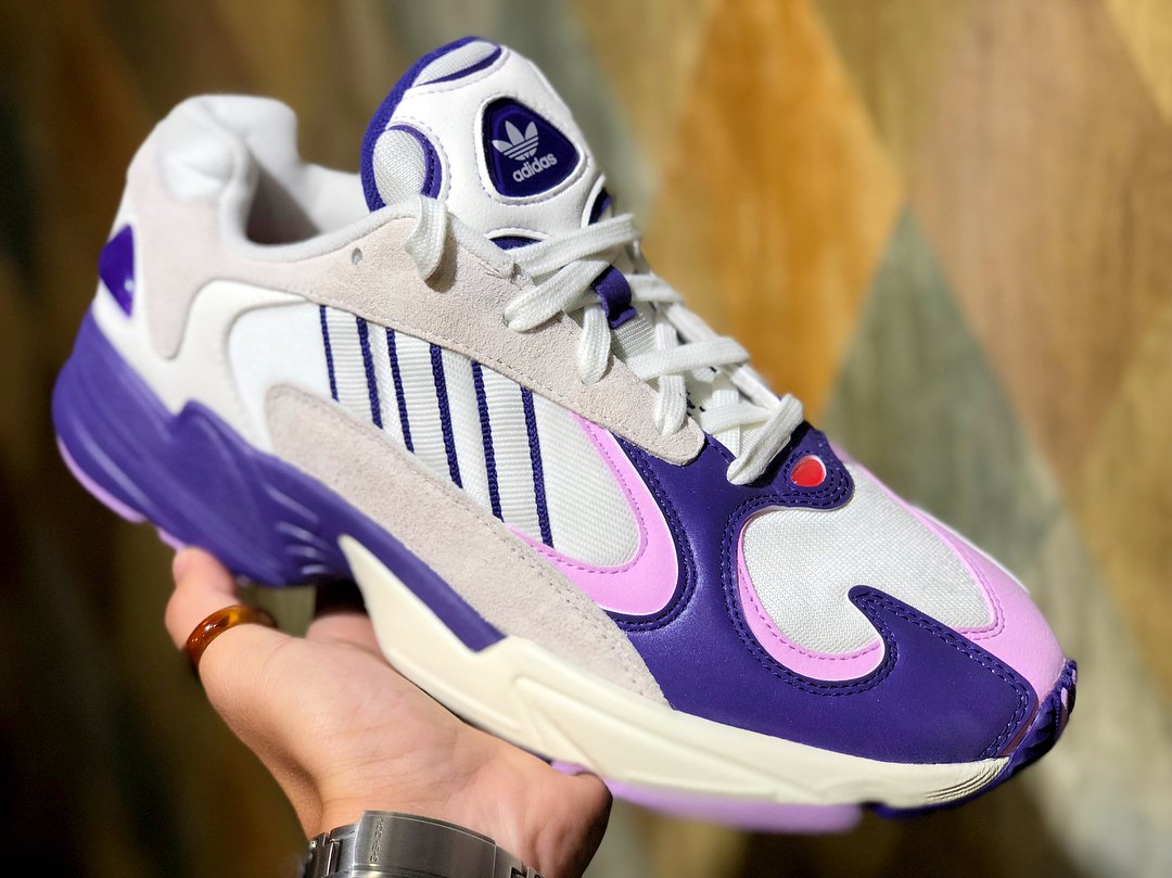 """new product ad2d4 f4191 ... """"Frieza"""" Dragon Ball Z x adidas Yung 1, featuring a suede and mesh  upper with corduroy and reflective accents, releasing later this month."""