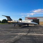 Our Sister company/FBO Corporate Wings offered a warm welcome for this #Flexjet flight to South Bend last weekend. #CorporateWings served over 200 aircraft for the Notre Dame v. Michigan game. #ICAO #KSBN