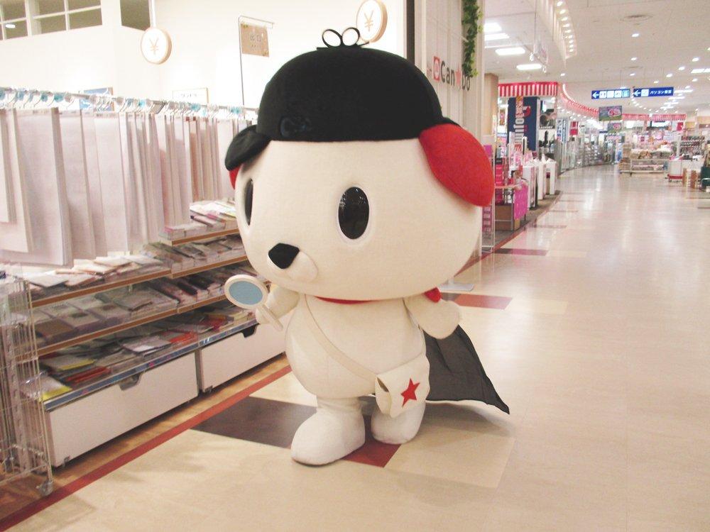 test ツイッターメディア - ☆ #はっ犬ワンドゥ冒険にっき ☆ 9月8日(土)アリオ橋本店に、キャンドゥイメージキャラクターの #はっ犬ワンドゥ が冒険にいきました! ハロウィンの仮装用品をはっけん!ひとあし先に楽しんだみたい♪ 次回の冒険もお楽しみに☆彡 #キャンドゥ #100均 https://t.co/NyCu8ZnrTj