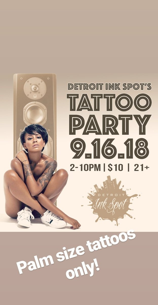 tattooparty hashtag on Twitter