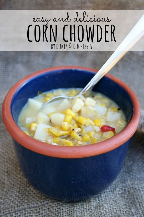 Enjoy the fall weather with this easy and delicious corn chowder #recipe! #soup https://t.co/nHDjMBlc0P https://t.co/ctuRVkTPmB