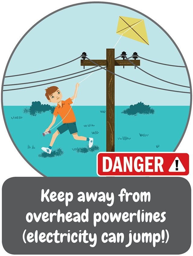 Today kicks off Electricity Safety Week. Here's our first safety tip for the week. #ESW2018 #beasafetystar https://t.co/phQueOXXZO