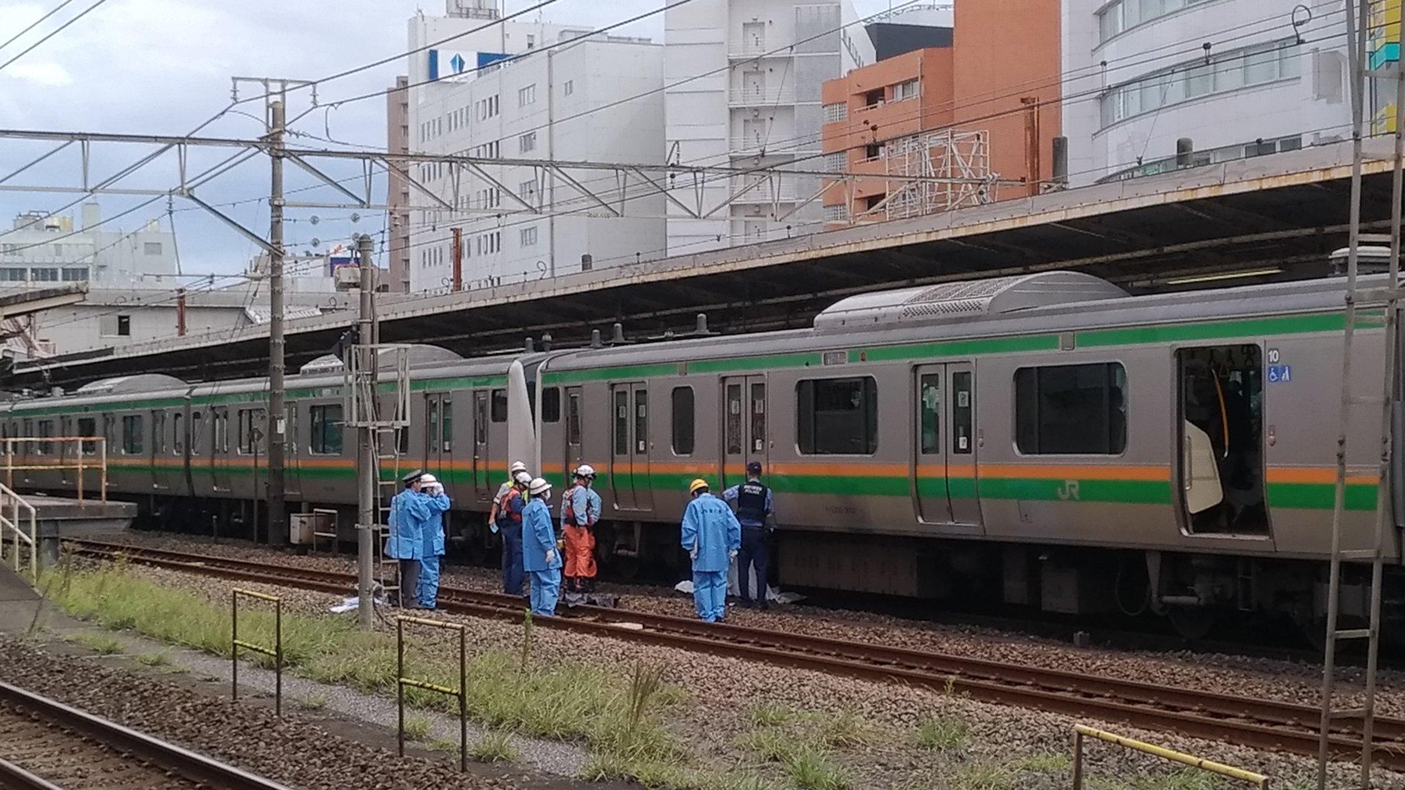 画像,このあたりに埋まってるのか。#藤沢駅#人身事故 https://t.co/zslyGYG9O6。