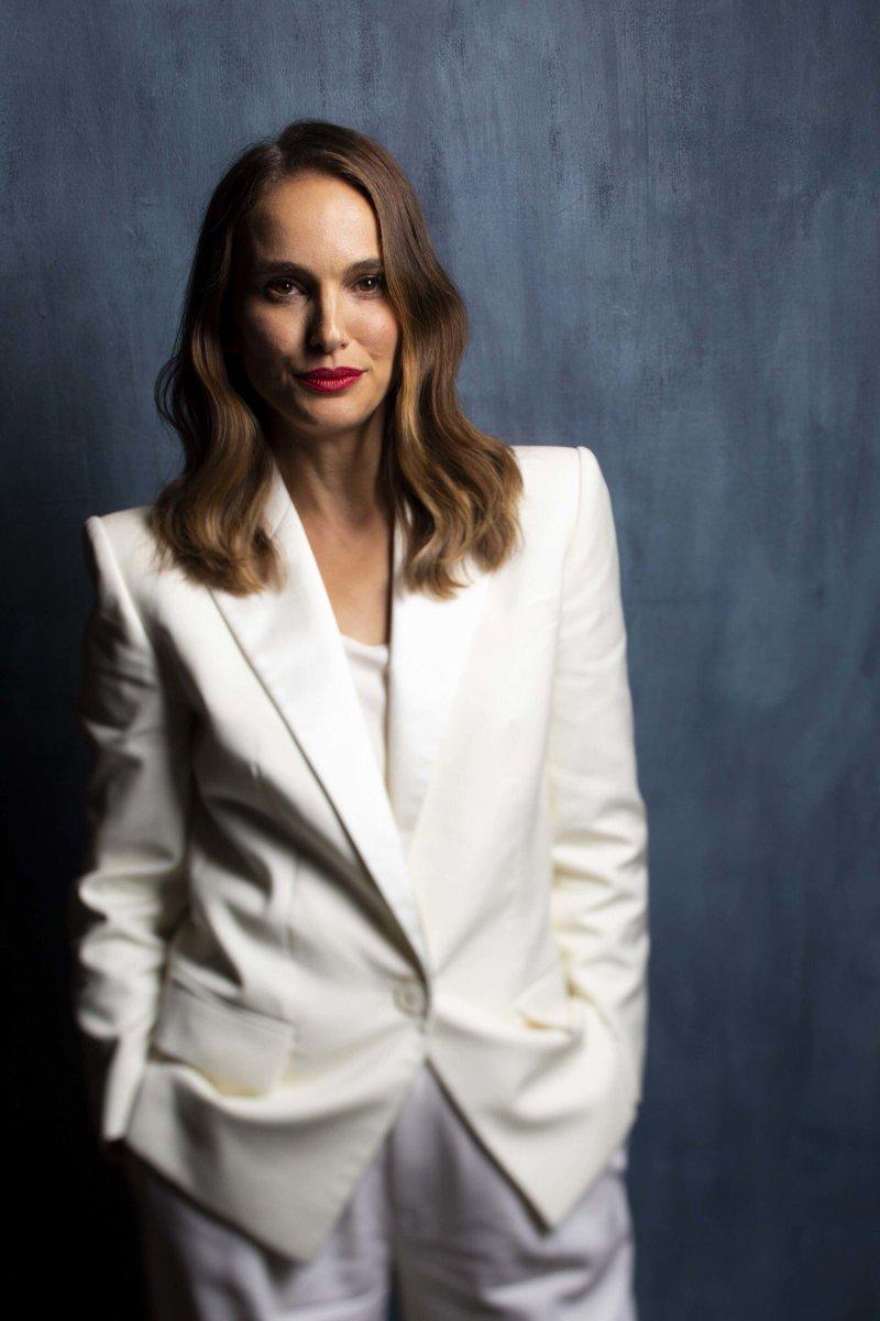 Natalie Portman photographed at the LA Times photo studio (2018)