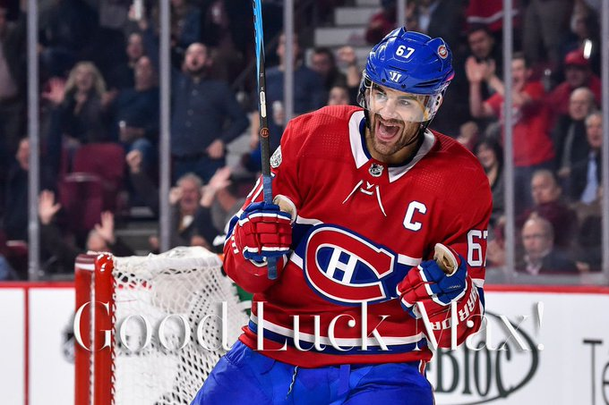 #Habs WIN 5-4 over the #GoldenKnights Welcoming Back To The Bell Centre The Pointless Max Pacioretty! Photo