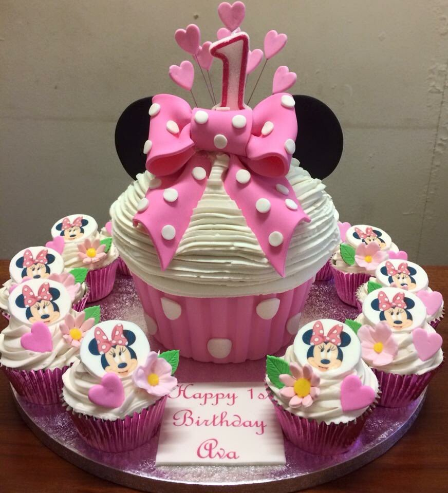 Miraculous The Danes Bakery On Twitter Minnie Mouse Birthday Cake Ideas Personalised Birthday Cards Veneteletsinfo