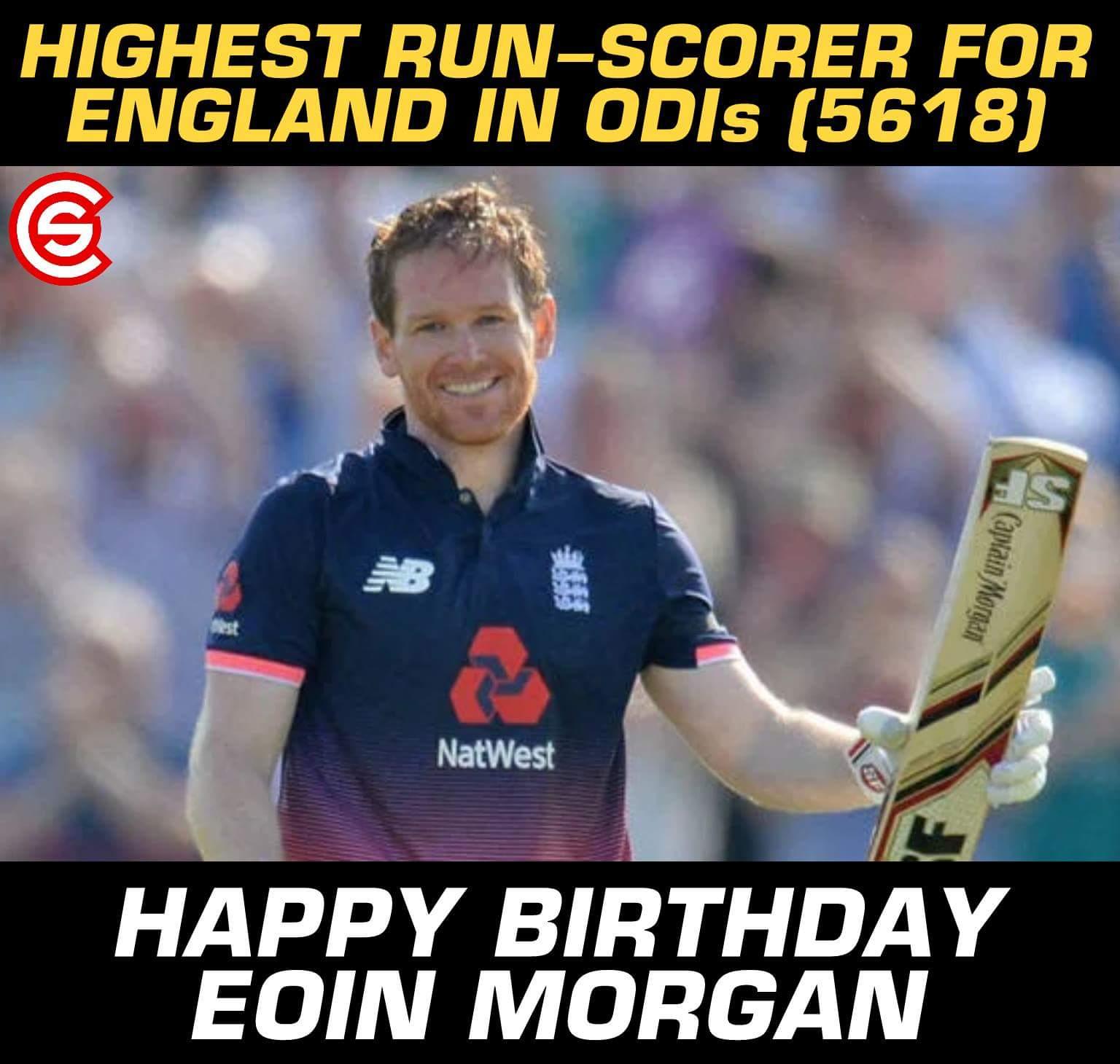 Happy Birthday, Eoin Morgan!!