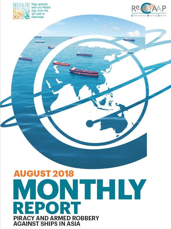 ReCAAP August Report Cover