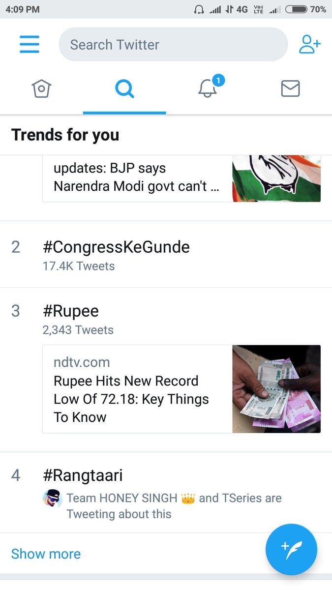 #Rangtaari trending Twitter