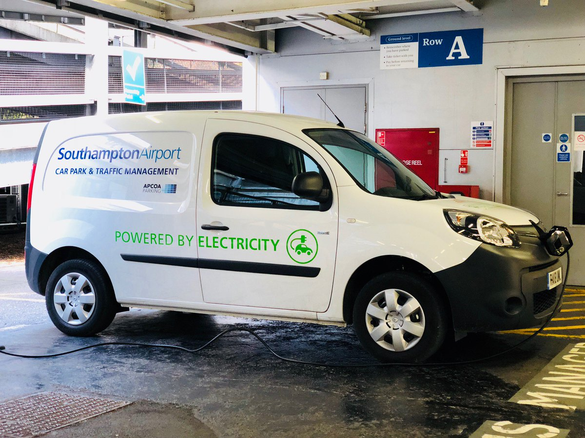 Southampton airport on twitter weve gone one step further in southampton airport on twitter weve gone one step further in being a green company check out our new electric van patrolling in our car park m4hsunfo
