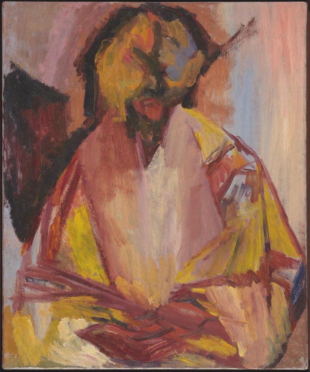 David Bomberg, The Last Self Portrait, 1956, Oil Canvas, Pallant House Gallery, Wilson Gift through The Art Fund (2006)  © Pallant House Gallery, courtesy of David Bomberg Estate (© Mark Heathcote)