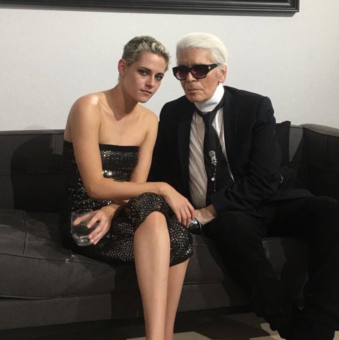 \It\s no secret that actress Kristen Stewart is a personal fave of Karl Lagerfeld\ Happy Birthday Karl