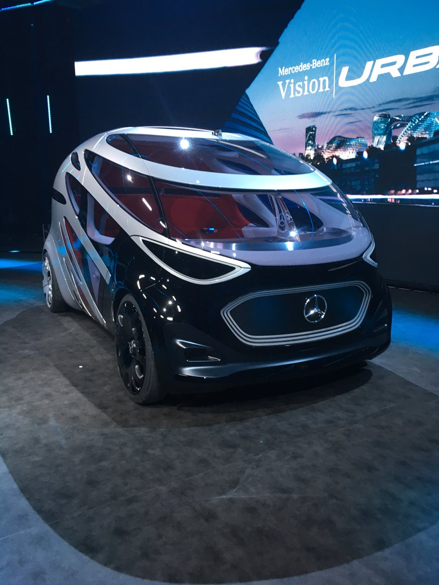 Daimler Ag On Twitter Meet The Mercedes Benz Vision Urbanetic And
