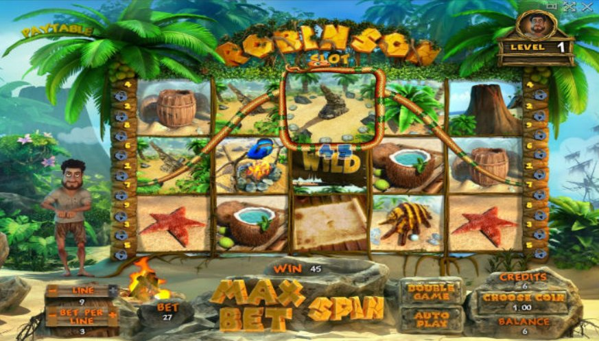 Играть в игровые аппараты робинзон бесплатный депозит при регистрации в казино