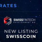 Image for the Tweet beginning: Exrates introduces Swisscoin today! @Swisscoin_Dev